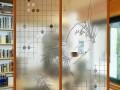 艺术玻璃隔断的使用方法
