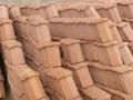红砖在我们的仿古建筑建设中非常多见