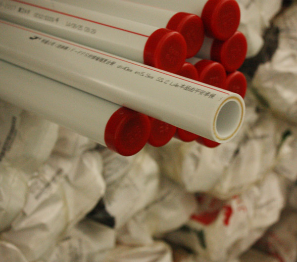 F-PP-R纤维增强复合管材管件