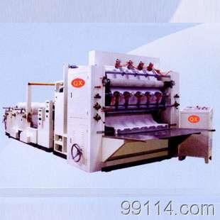 JFMJ-2Z-6L型六排盒装面巾纸机