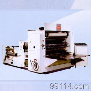 JFMJ-3Z-5L型五排三折擦手纸机