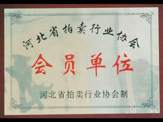 河北省拍卖行业协会会员单位