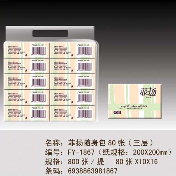 菲扬随身包80张(三层)