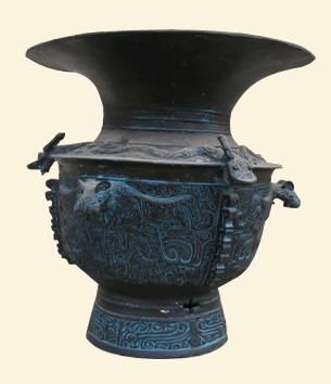 青铜器雕塑
