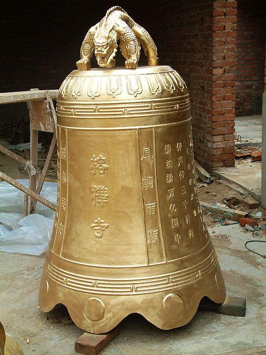 寺庙铜钟、铁钟