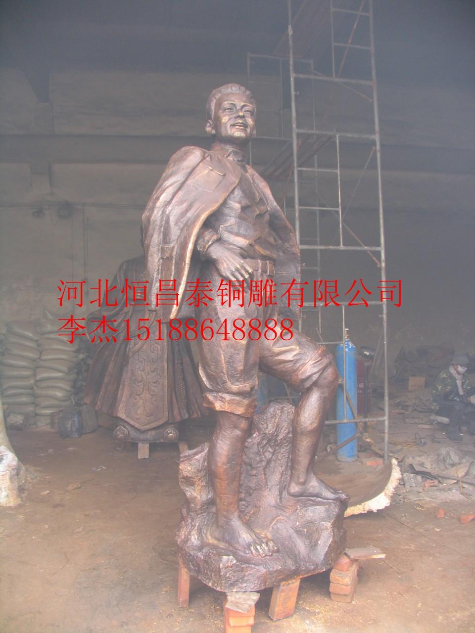 名人雕塑价格,铜雕伟人加工,人物雕塑