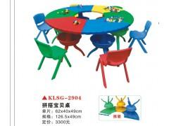 邯郸市磁县幼儿园彩色手工课桌、幼儿园椅子、幼儿园书报架销售