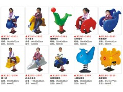 幼儿园室内小型玩具动物摇摇乐2501