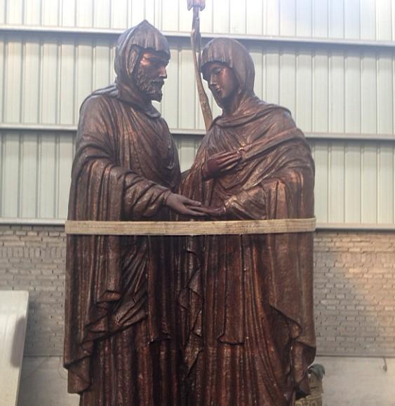古代宫廷人物雕塑定制,人物雕塑厂家报价