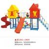 内蒙古蓝旗幼儿园户外玩具组合滑梯秋千