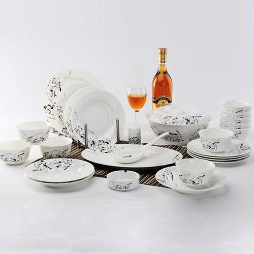 骨瓷餐具碗盘套装组合