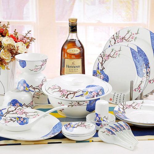 高档骨瓷瓷器餐具