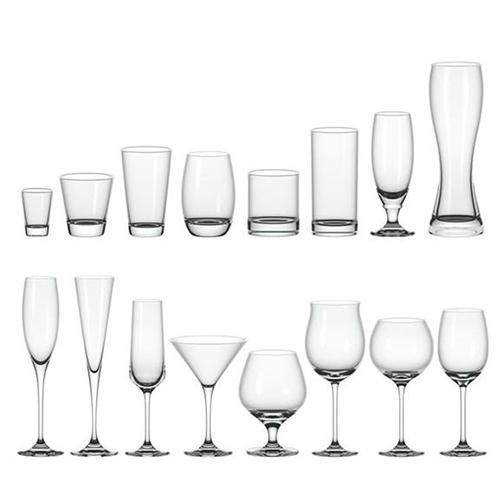 各式玻璃杯