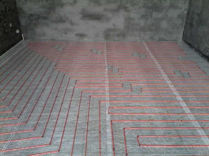 工程第一會所電地暖