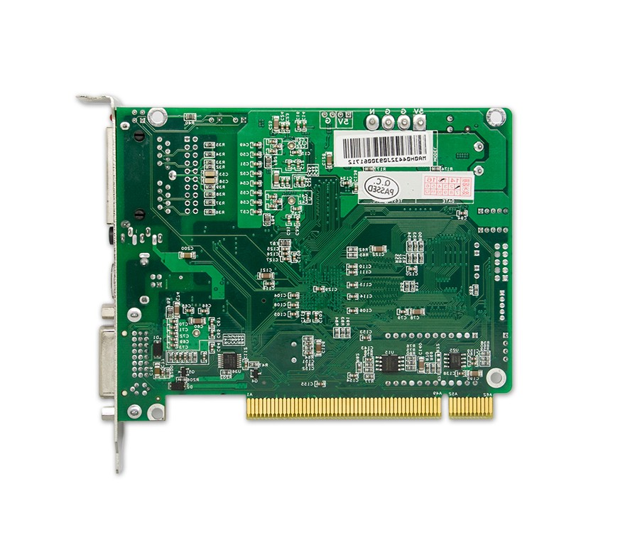 发送卡MSD300是诺瓦科技基本款的发送卡,具如下特点: 1.一路 DVI 视频输入; 2.一路音频输入; 3.双网口输出; 4.USB 接口控制,可级联多台进行统一控制; 5.单张发送卡支持分辨率 12801024、10241200、1600848、1920712、2048668; 6.一路光探头接口; 发送卡MSD300是LED同步控制系统中发送卡的一种.