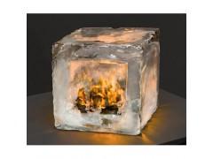 防火玻璃实验图