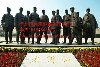 抗战英雄_供应产品_河北恒昌泰铜雕有限公司