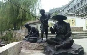 城市人物 现代人物铜雕