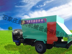 牛饲料撒料车