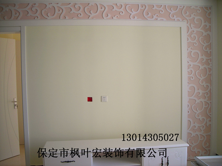 壁纸设计方案实拍图