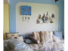 沙发背景墙实拍