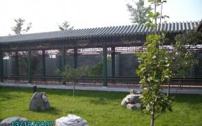 古建凉亭长廊施工