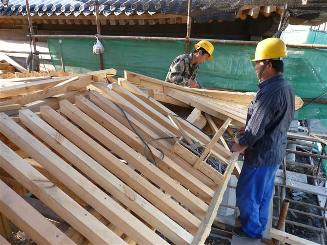 古建木结构制作