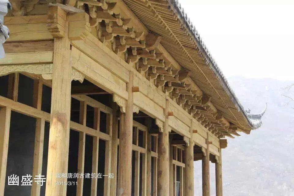 河北唐县古建木结构加工制作