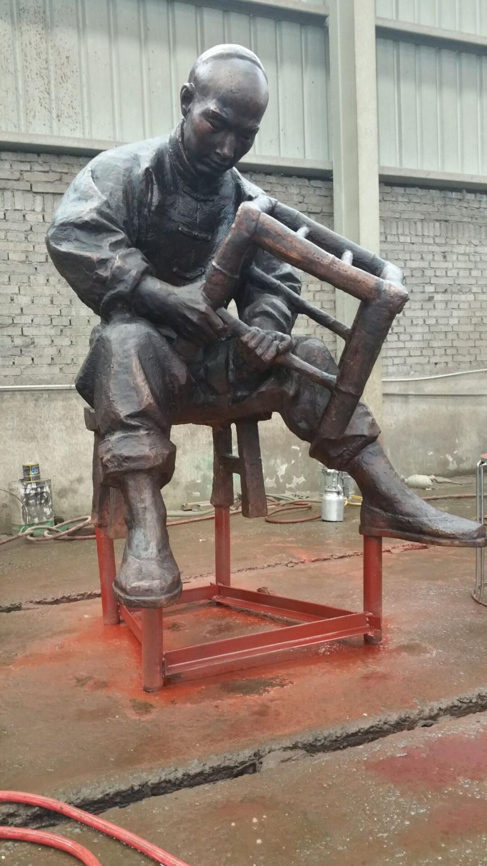 人物雕塑认证商家、古代人物优质供应商