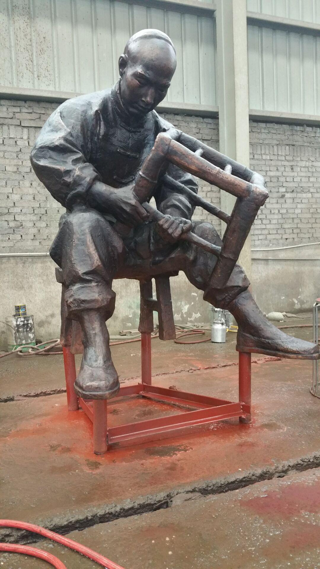 人物雕塑认证商家,古代人物优质供应商