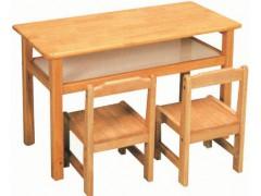 双人课桌椅