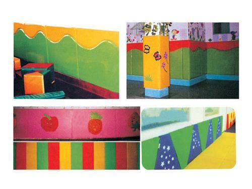 幼儿软体装饰安全护墙