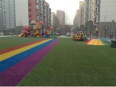 供应石家庄室外草坪、人造草坪、米奇妙幼儿玩教具