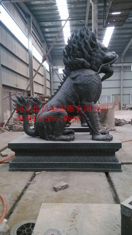 恒昌泰麒麟雕塑