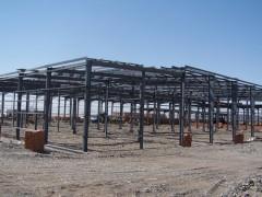 新疆鄯善县海绵铁钢结构厂房工程