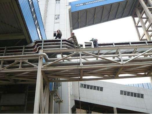 龍山電廠電纜橋架防火工程