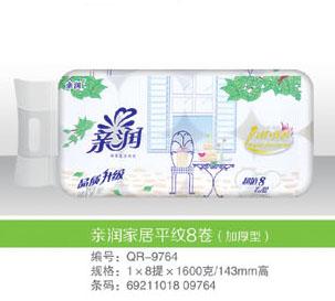 亲润家居平纹圆8卷(加厚型)_8256