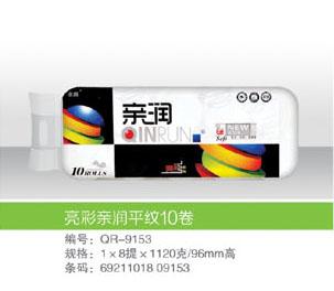亮彩亲润平纹10卷_5131