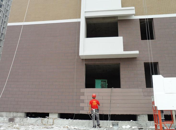 外墙仿砖真石漆