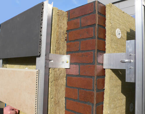 外墙保温系统(岩棉干挂)