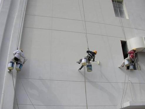 外墙蜘蛛人翻新施工
