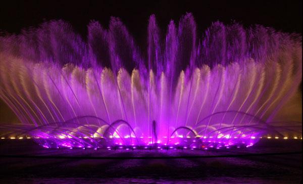 河北省做一个大型广场音乐喷泉制作多少钱