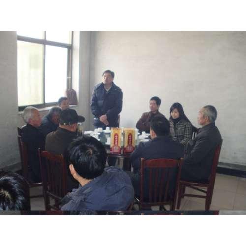 河北省农科院甘薯室主任张松树在年会上讲话