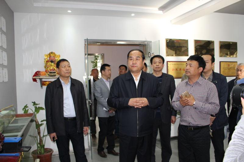 市长马誉峰亲临网商国际