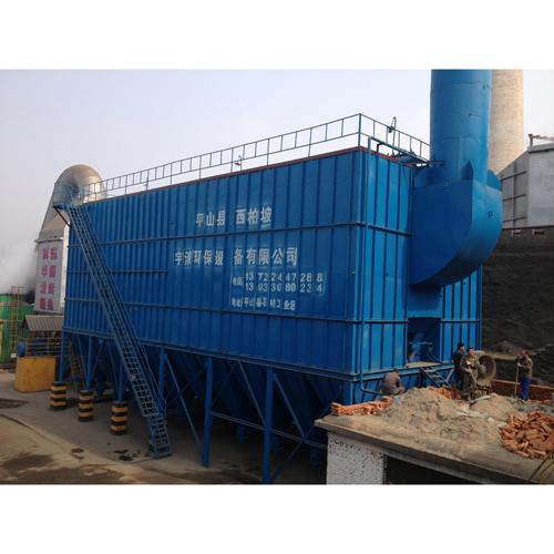 2010年施工石家庄三环锰硅科技有限公司四分厂PLC控制自动袋式除尘装置安装工程