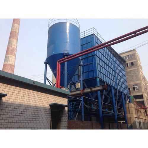 2013年8月河北德瑞淀粉有限公司35T锅炉袋式除尘装置与脱硫