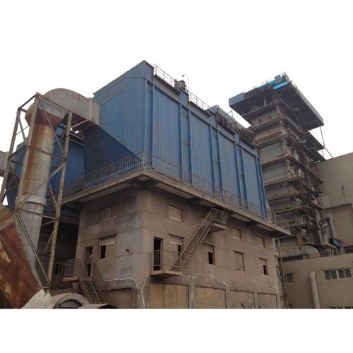 2013年8月河北东明中硅科技有限公司35T电除尘器改为电袋复合除尘装置