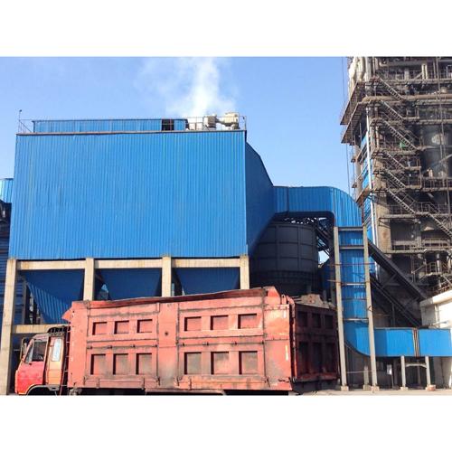 2011年3月石家庄柏坡正元化肥有限公司150吨锅炉电袋复合式除尘装置