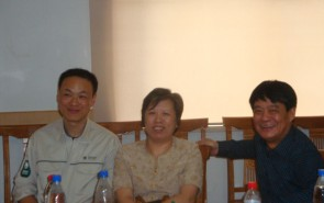 与上海电力公司共同组织的研讨会