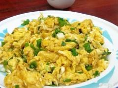 香葱柴鸡蛋